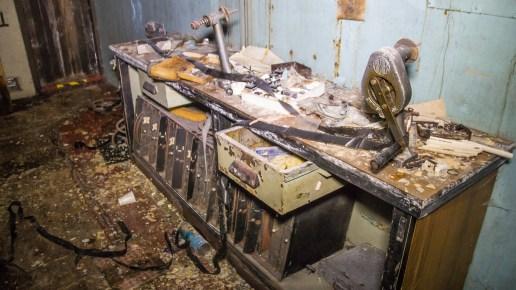 Projection room of former ABC cinema Kirkcaldy