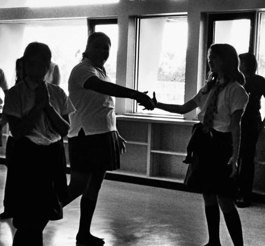 10_photo of Grade 7 St Josephs School Students Enacting Peace through Image Theatre