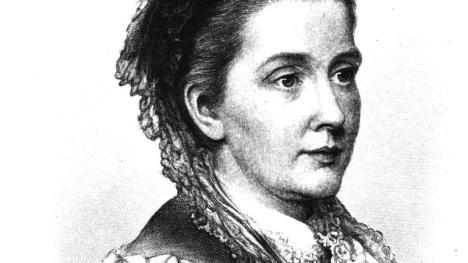 Hand drawn image in the likeness of Julia Howard Howe