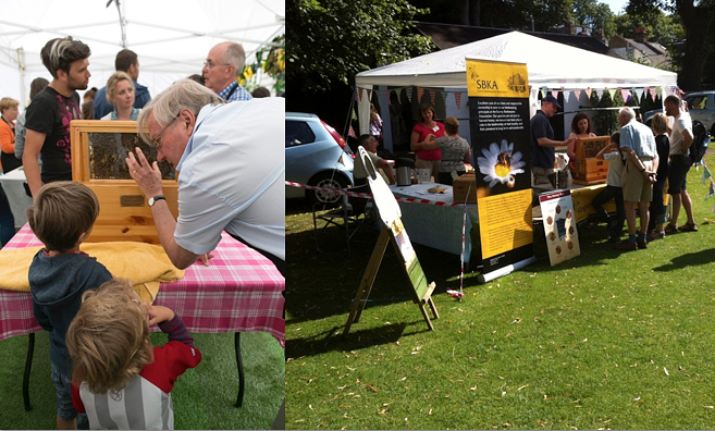 Kingston beekeeping association markets and fairs
