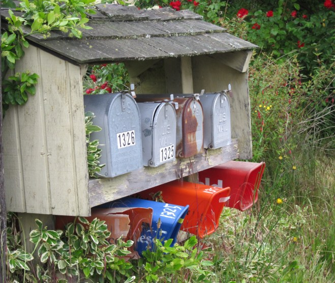 Camano Mailboxes