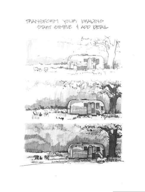 Airstream with gray