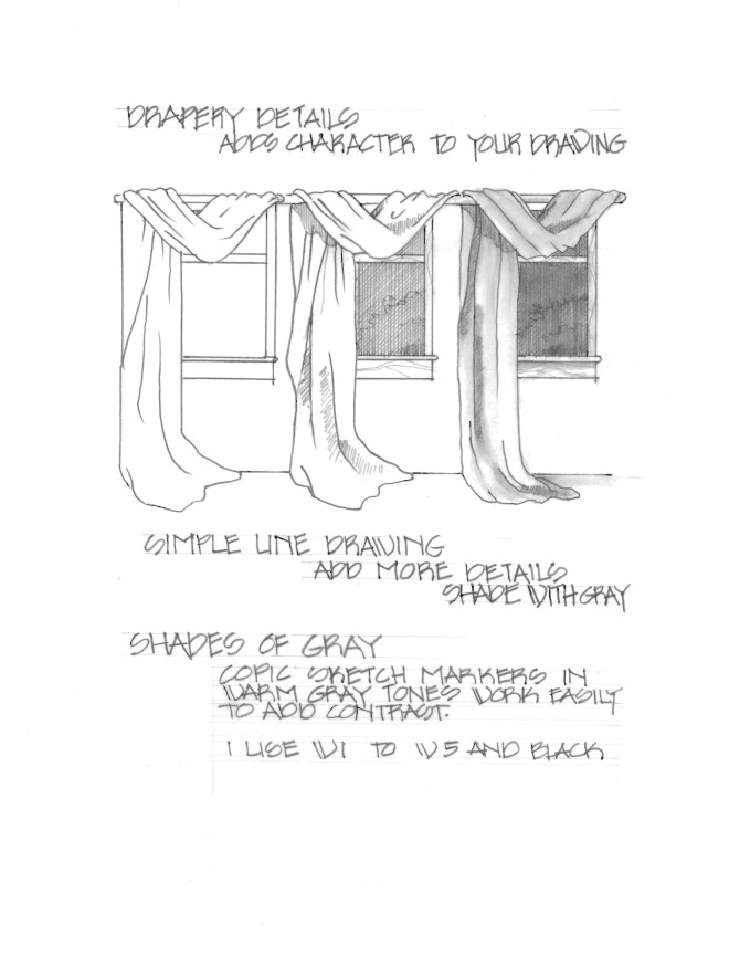 Drawing Draperies