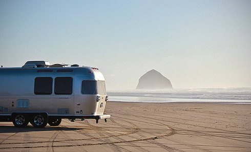 airstream Haystack rock