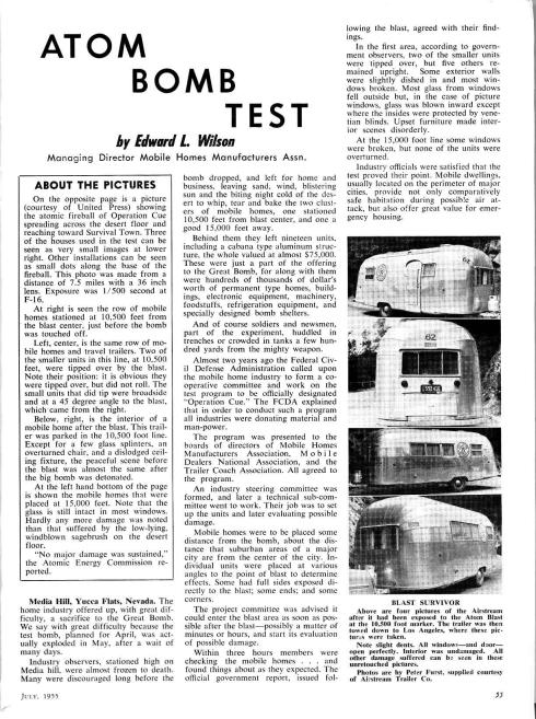 Airstream newspaper