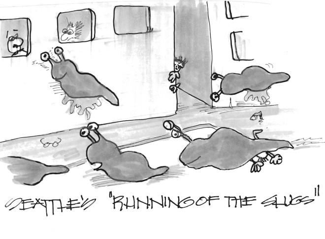 Seattle's Running of the Slugs