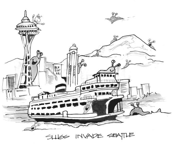 Slugs invade Seattle...