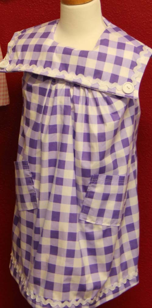 Purple Sailor Dress