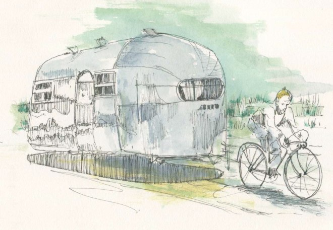 Airstream Bicycle