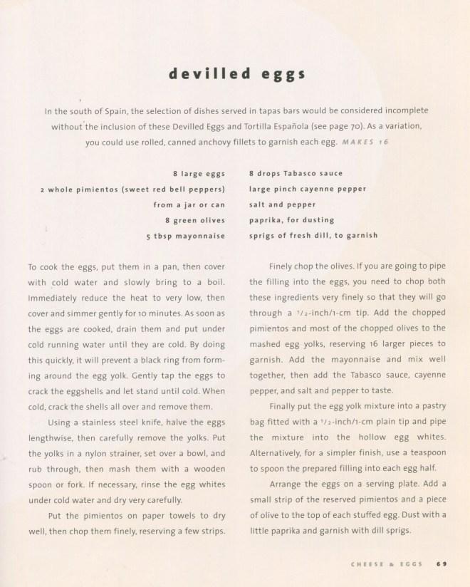 devilled eggs recipe