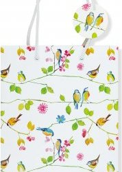 Watercolour Birds Gift Bag