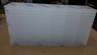 Plastic pigeonholes