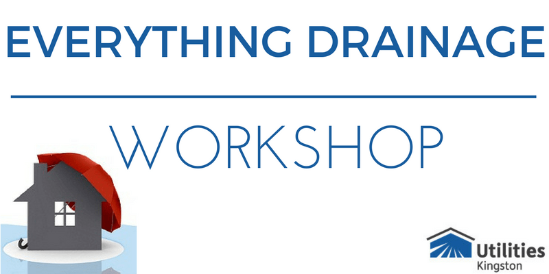 Kingston utilities everything drainage workshop