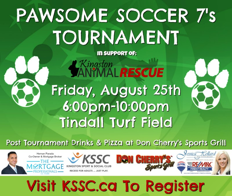 pawsome soccer tournament