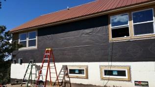 preparing for stucco