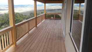 We will enjoy much time on this wonderful deck.
