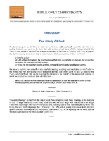 Theology – The Study Of God – DailyStudies – September2006 – A4 – final