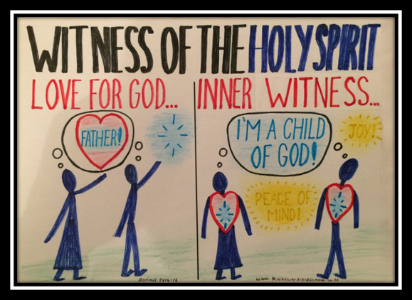 witness of the Spirit, assurance of salvation, love for God as Father