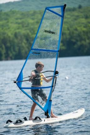 windsurfing clinic lake water watersports sleepaway camp