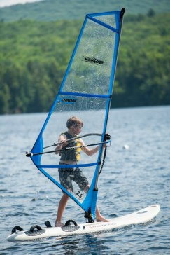windsurfing clinic lake water watersports sleepaway camp