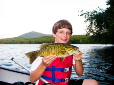 Fishing at Indian Pond
