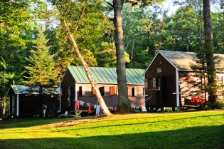 Hilly cabins
