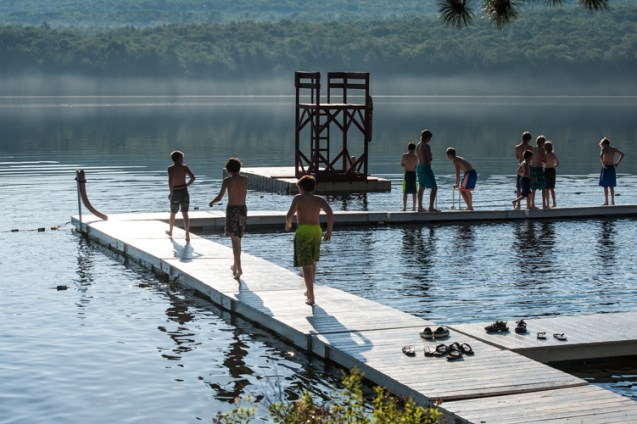 waterfront facilities lake new hampshire boys overnight camp