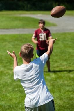 football sports clinic games boys summer camp new england