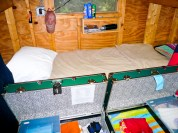 A typical bunk ready for inspection!