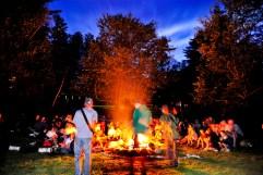 A nighttime concert