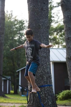 pines field sleepaway camp new hampshire free time
