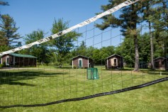 Volleyball net used for a variety of Kingswood original net games