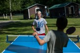 outdoor ping pong game