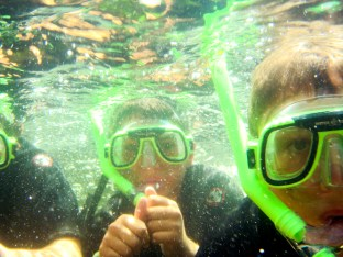 Snorkeling clinic