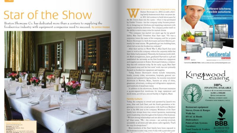 Kingswood Client Featured In Food & Drink Intl Magazine
