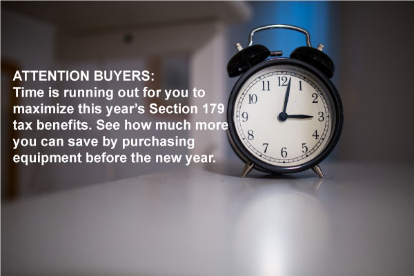 Capitalize On Your Tax Benefits Before Time Runs Out!