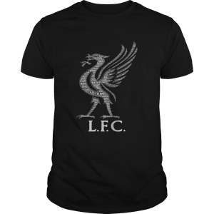 Liverpool FC Mo Salah never give up black shirts