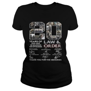 20 years of Law and Order 1990 2010 20 seasons 456 episodes Classic Ladies