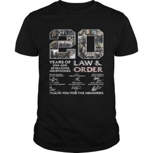 20 years of Law and Order 1990 2010 20 seasons 456 episodes Unisex