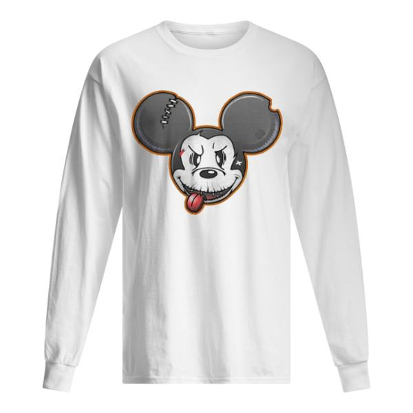 Halloween Mickey Mouse Shirt Long Sleeved T-shirt