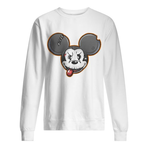 Halloween Mickey Mouse Shirt Unisex Sweatshirt