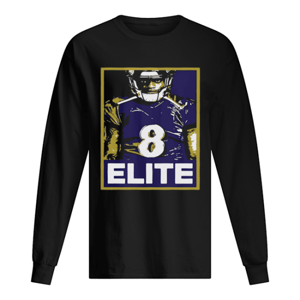 8 LJ Elite  Long Sleeved T-shirt