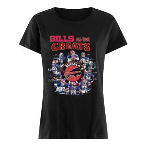 Bills all-time greats Buffalo Bills Players signature  Classic Women's T-shirt