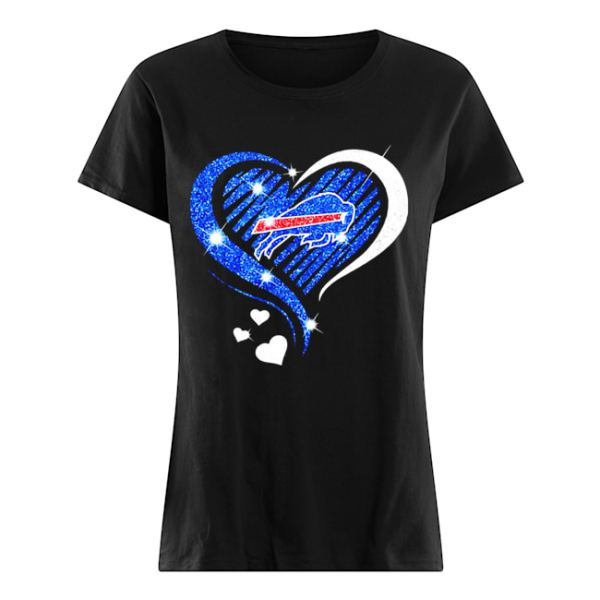 Buffalo Bills Diamond heart  Classic Women's T-shirt