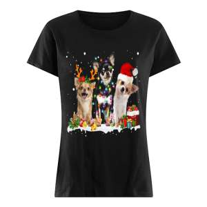 Cute Chihuahua Christmas  Classic Women's T-shirt