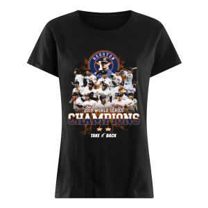 Houston Astros 2019 World Series Champions  Classic Women's T-shirt