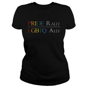 I Cant See Pride Rally LGBTQ Ally  Classic Ladies