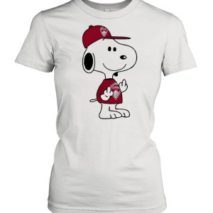Snoopy Colorado Rapids MLS Double Middle Fingers Fuck You  Classic Women's T-shirt