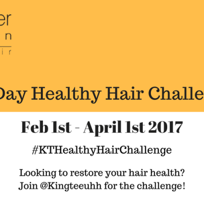 60 Day Healthy Hair Challenge
