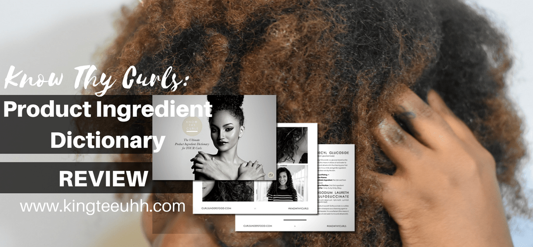 Know Thy Curls | Natural Hair E-Book Review
